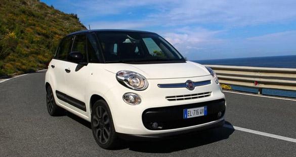 Wie viel Golf passt in den neuen Fiat 500L