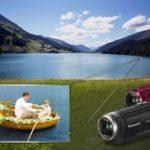 Panasonic Full HD-Camcorder HC-V550/550CT, HC-V250 und HC-V130 mit Megazoom