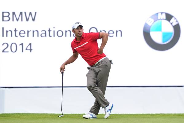 28. Juni 2014, Gut Lärchenhof, BMW International Open, Runde 03, Pablo Larrazábal © BMW AG (06/2014)